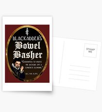 Blackadder's Bowel Basher Ale Postcards
