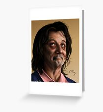 Zombie Bill Murray Greeting Card