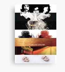 Kings Of Leon Albums Canvas Print
