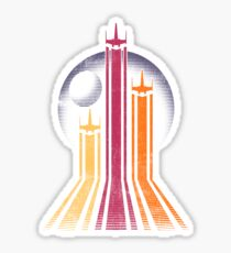Retro Galactic Sticker