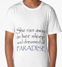 Coldplay Paradise Long T-Shirt