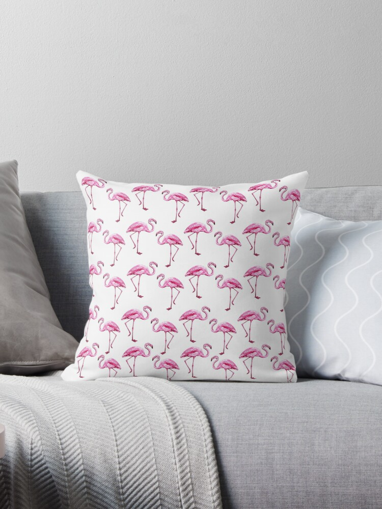 Flamingo pattern by ValentinaHramov