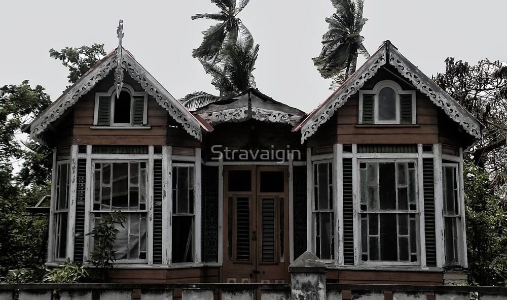 Abandoned House, St Lawrence Gap, Barbados by Stravaigin