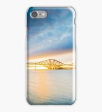 Forth Bridge at sunset iPhone Case/Skin