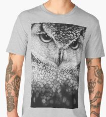 The Great Owl - by Katherine Thea Rose Art Men's Premium T-Shirt