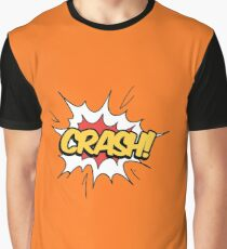CRASH - Comic ballon design Graphic T-Shirt