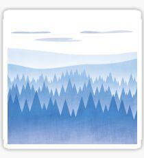 Blue Woods Sticker