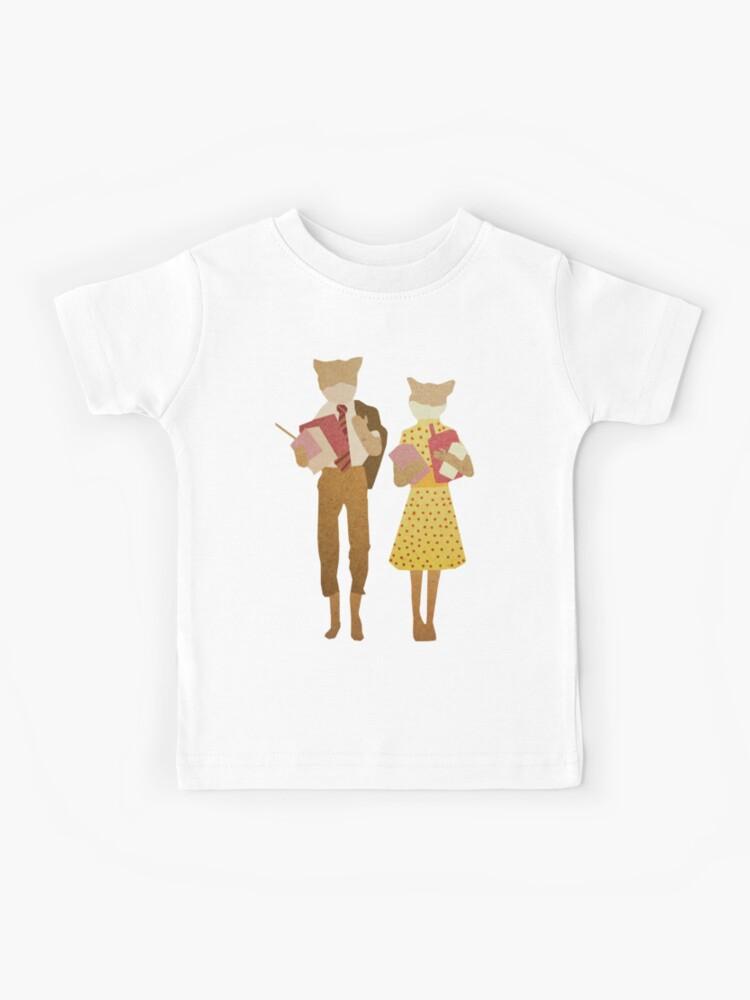 Fantastic Mr Fox Kids T Shirt By Godzillagirl Redbubble