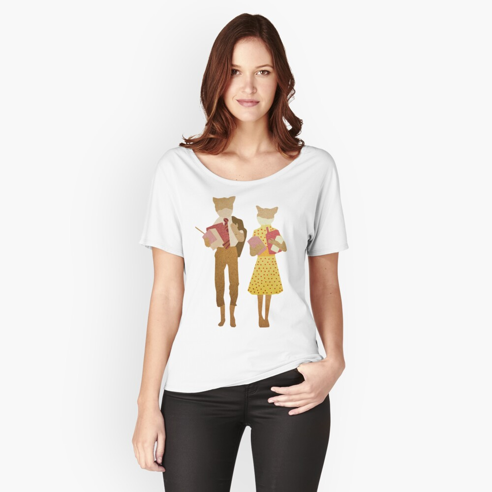 Fantastic Mr Fox  Relaxed Fit T-Shirt