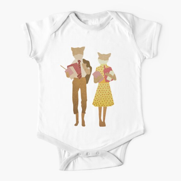 Fantastic Mr Fox  Short Sleeve Baby One-Piece