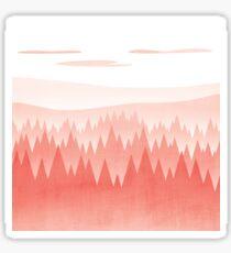 Red Woods Sticker