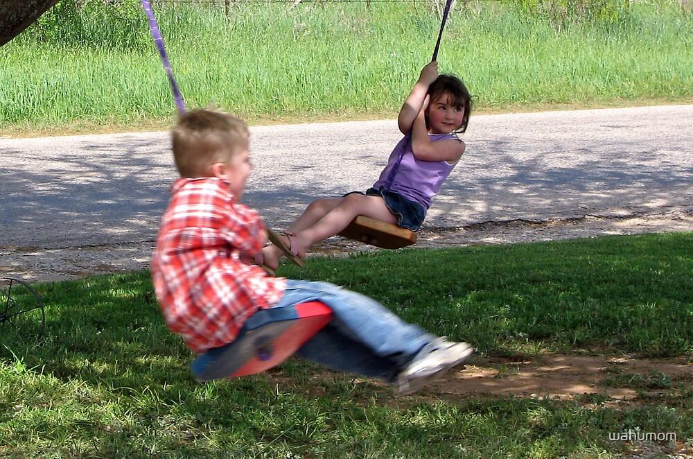 Just a Swingin' by wahumom