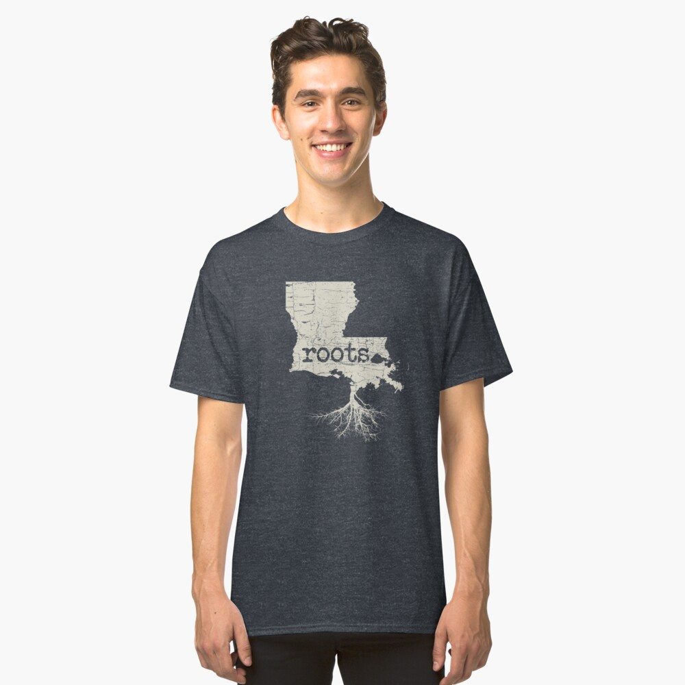 Louisiana Roots Classic T-Shirt Front