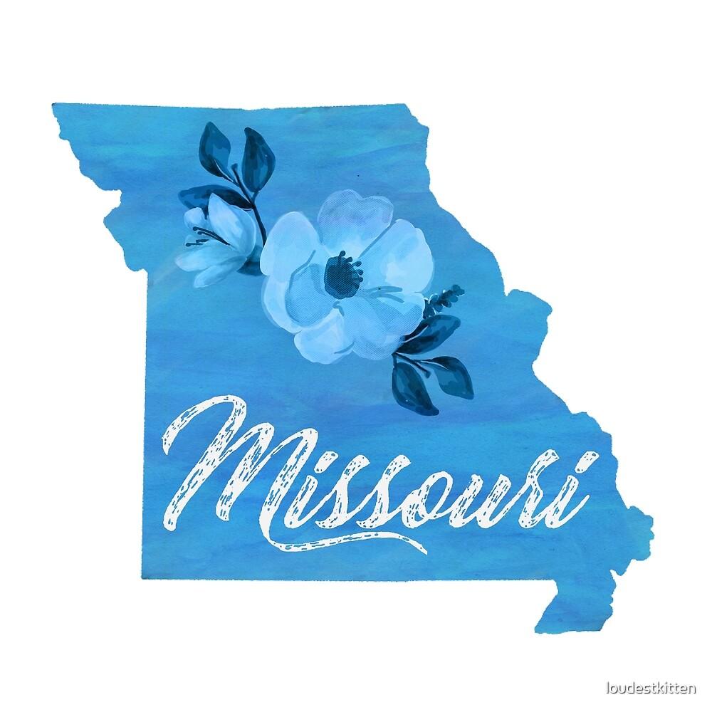 Missouri - Watercolor by loudestkitten