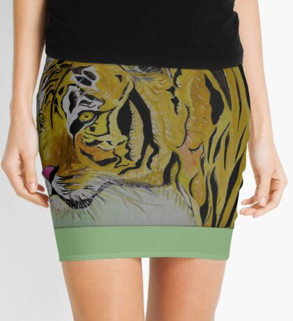 The Sad Tiger Mini Skirt
