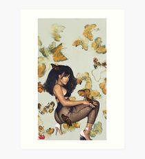 SZA Art Print