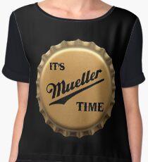 It's Mueller Time - Bottle Cap Women's Chiffon Top