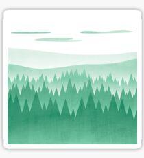 Green Woods Sticker