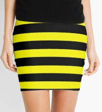 Bumble Bee Line Mini Skirt