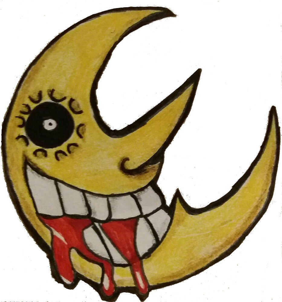 soul eater moon by whyy-not