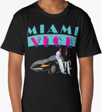 MIAMI VICE - RETRO 80s TV SERIES Long T-Shirt