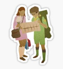 Sam + Suzy Sticker