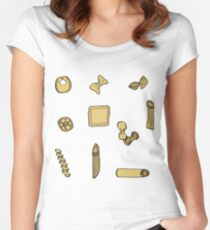 Pasta Women's Fitted Scoop T-Shirt