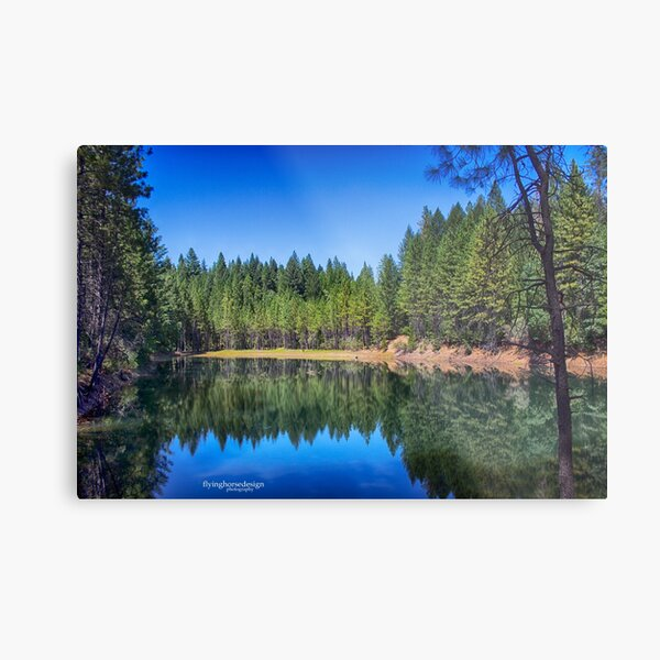 Paradise Lake - Northern, CA #3 Metal Print