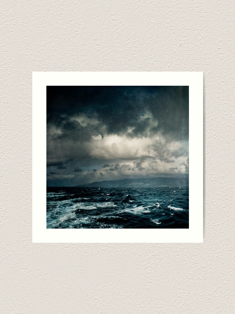 Alternate view of Wild Ocean Art Print