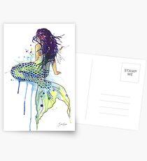 Meerjungfrau Postkarten