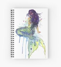 Mermaid Spiral Notebook