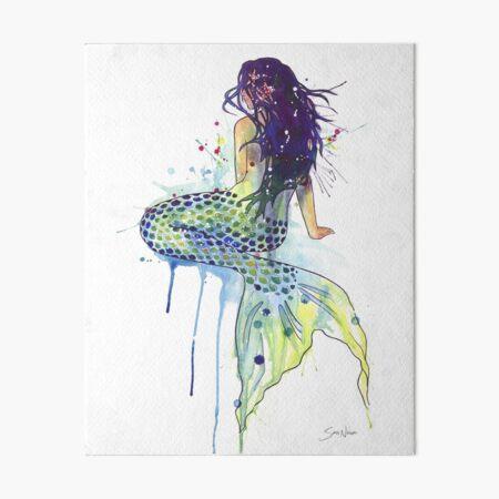 Mermaid Art Board Print