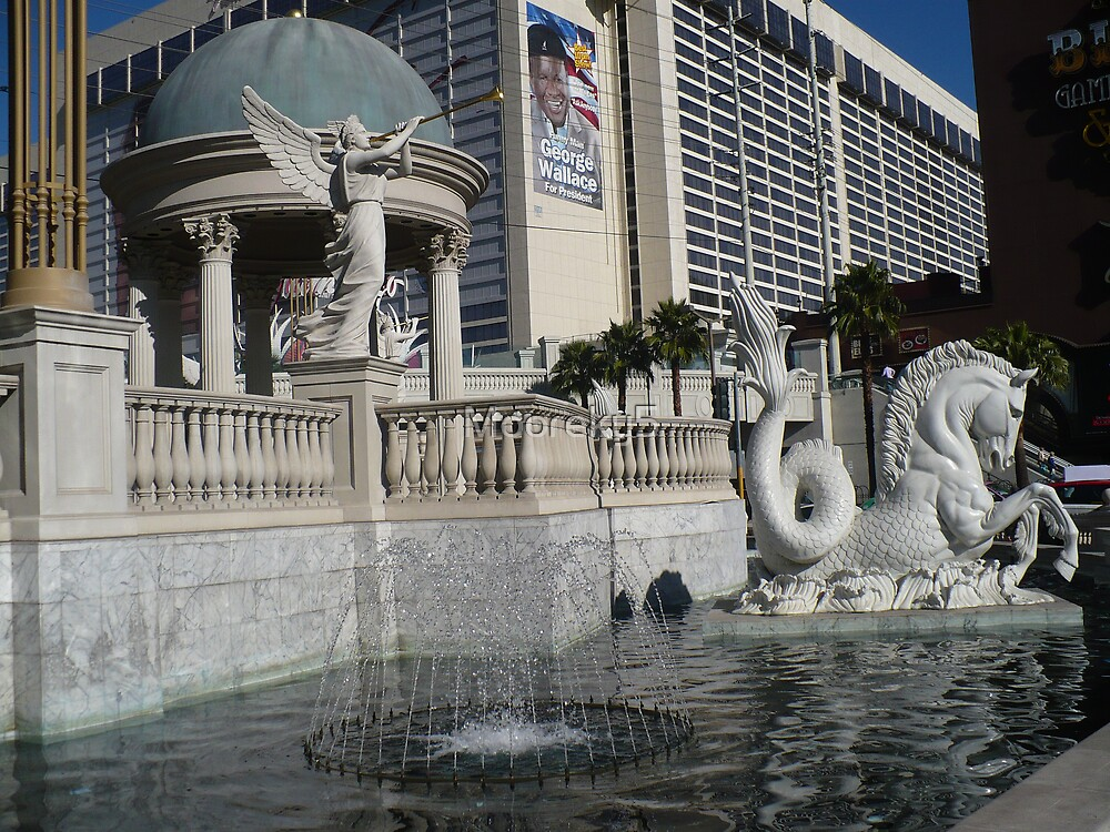 Ceasar's Greek Fountain by Mooreky5