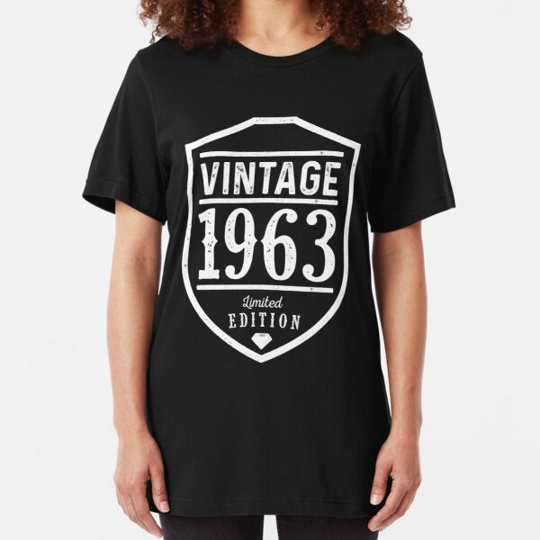 Vintage 1963 Slim Fit T-Shirt