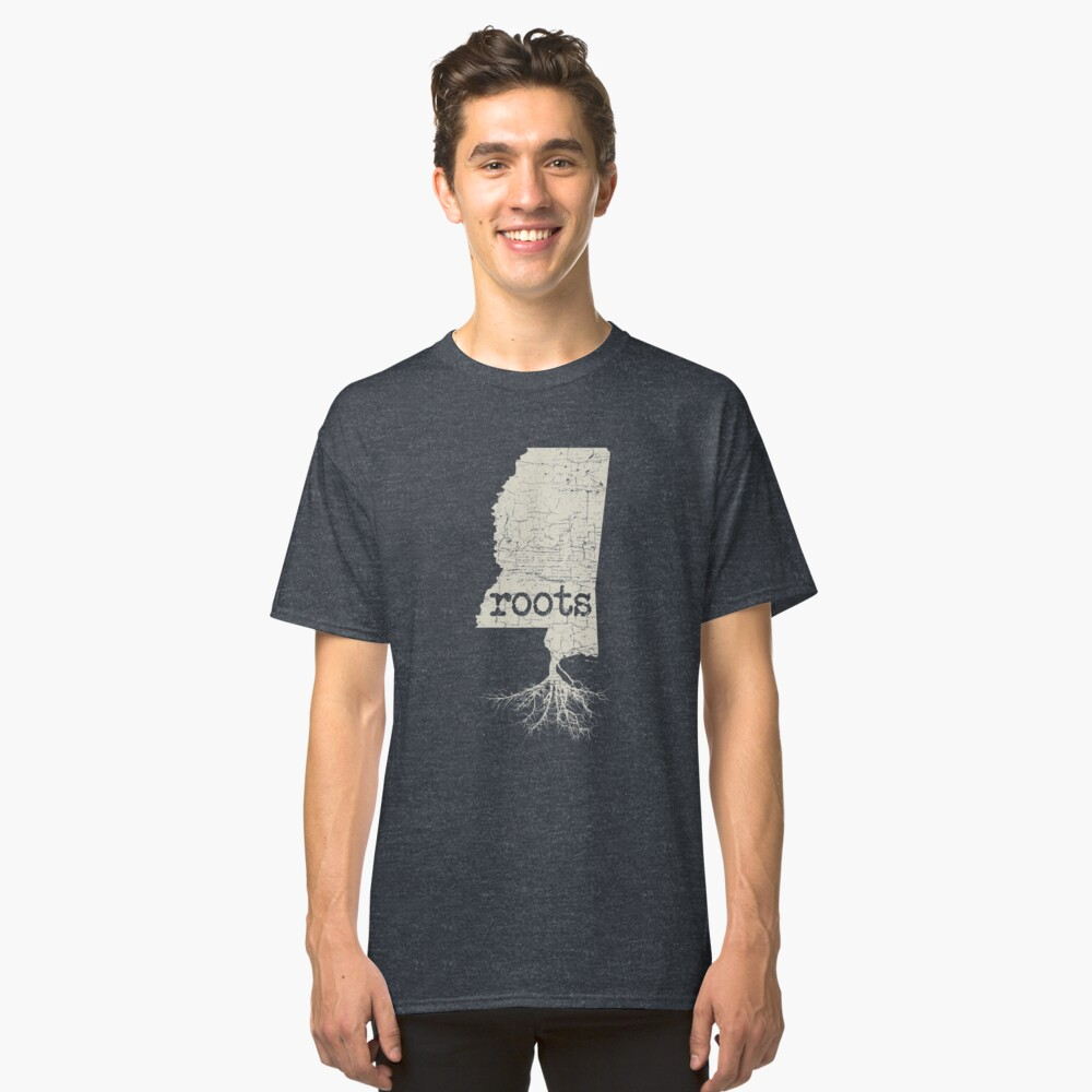 Mississippi Roots Classic T-Shirt Front