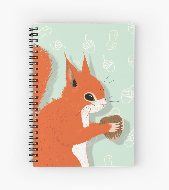 Cute Squirrel | Niedliches Eichhörnchen mit Nuss by Kai Sternberg