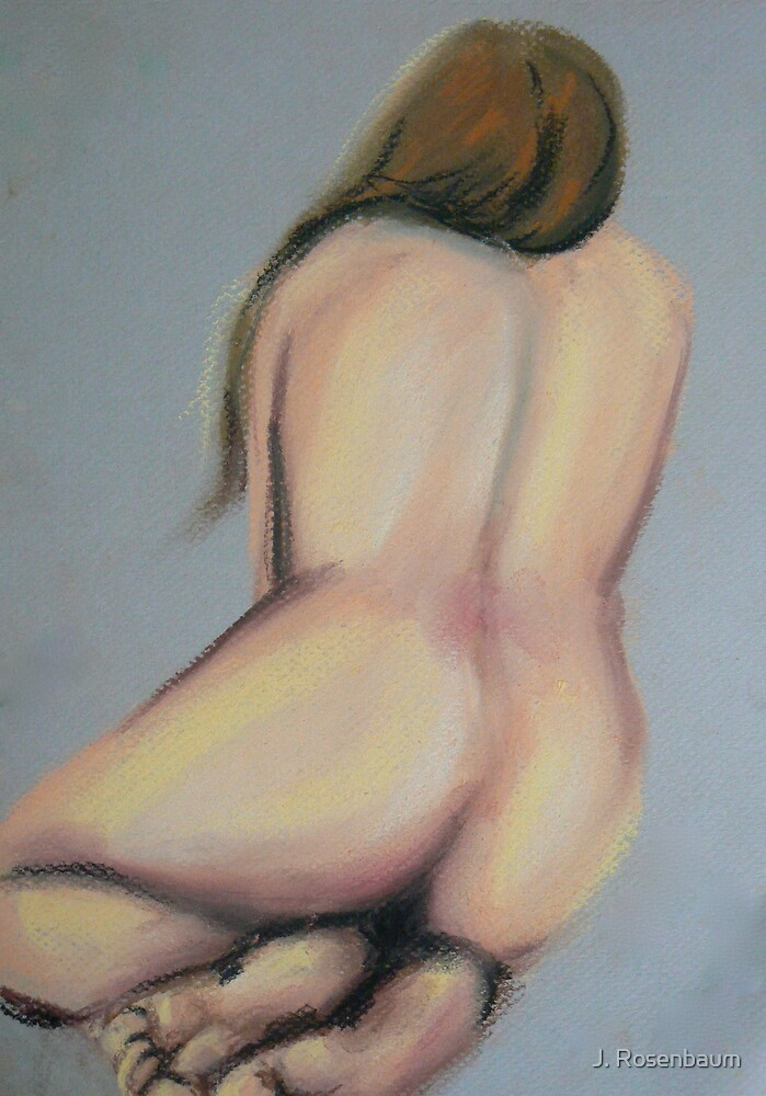 Drawing Day 1  by Jennie Rosenbaum