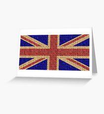 Scrabble Union Jack #1 Greeting Card