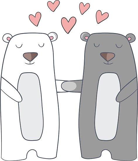 Bears in Love by Pferdefreundin