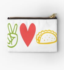 Peace Love Tacos Studio Pouch