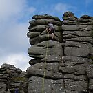 Climbing The Tor by lezvee