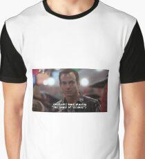 """Hello darkness, my old friend..."" Graphic T-Shirt"