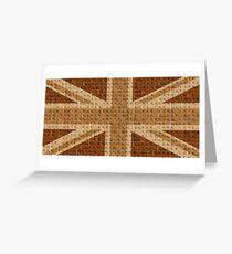 Scrabble Union Jack #2 Greeting Card