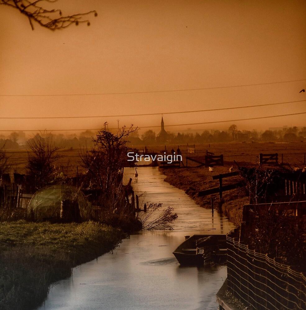 Evening Twilight, Broek in Waterland, Netherlands by Stravaigin