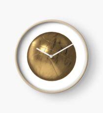 Golden Basketball Clock
