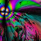 Angry Alien Psychedelic Skies by ckphotohisto