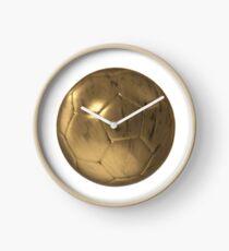 Golden Soccer  Clock