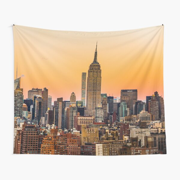 URBAN EXODUS|MANHATTAN|NEW YORK|UNITED STATES|MODERN PRINTING/1Pc #27386717 Tapestry