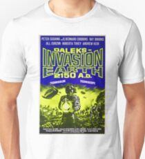 Doctor Who Poster – Daleks: Invasion Earth T-Shirt