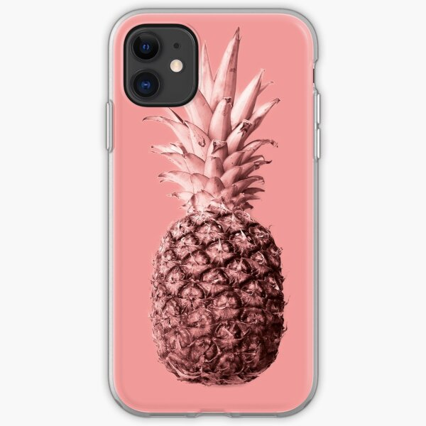 Pineapple 04 iPhone Flexible Hülle